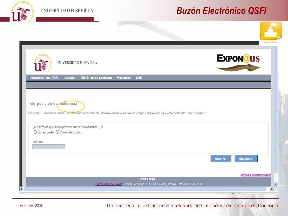 Buzón Electrónico QSFI