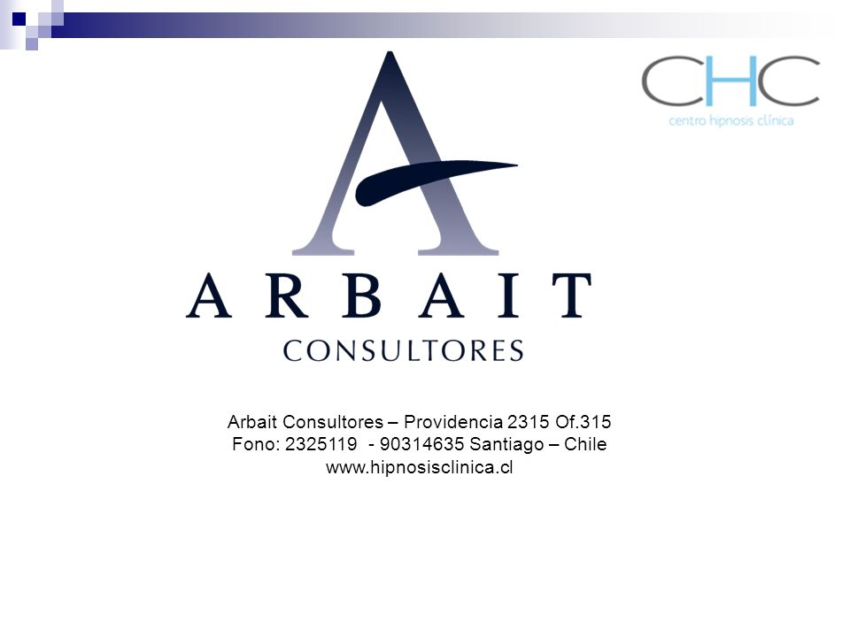 Arbait Consultores – Providencia 2315 Of.315
