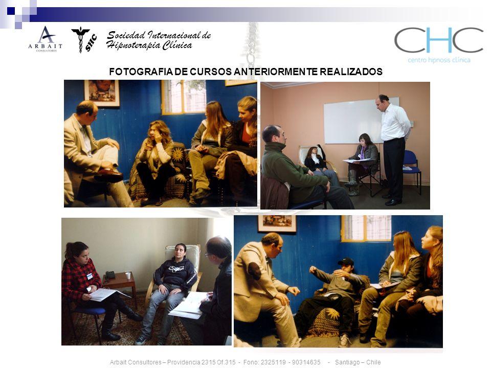 FOTOGRAFIA DE CURSOS ANTERIORMENTE REALIZADOS