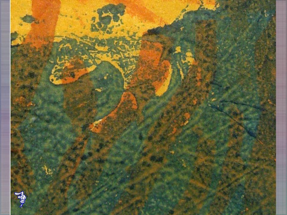 Técnica mixta en plancha de cartón con aeronfix y aparejo Titán