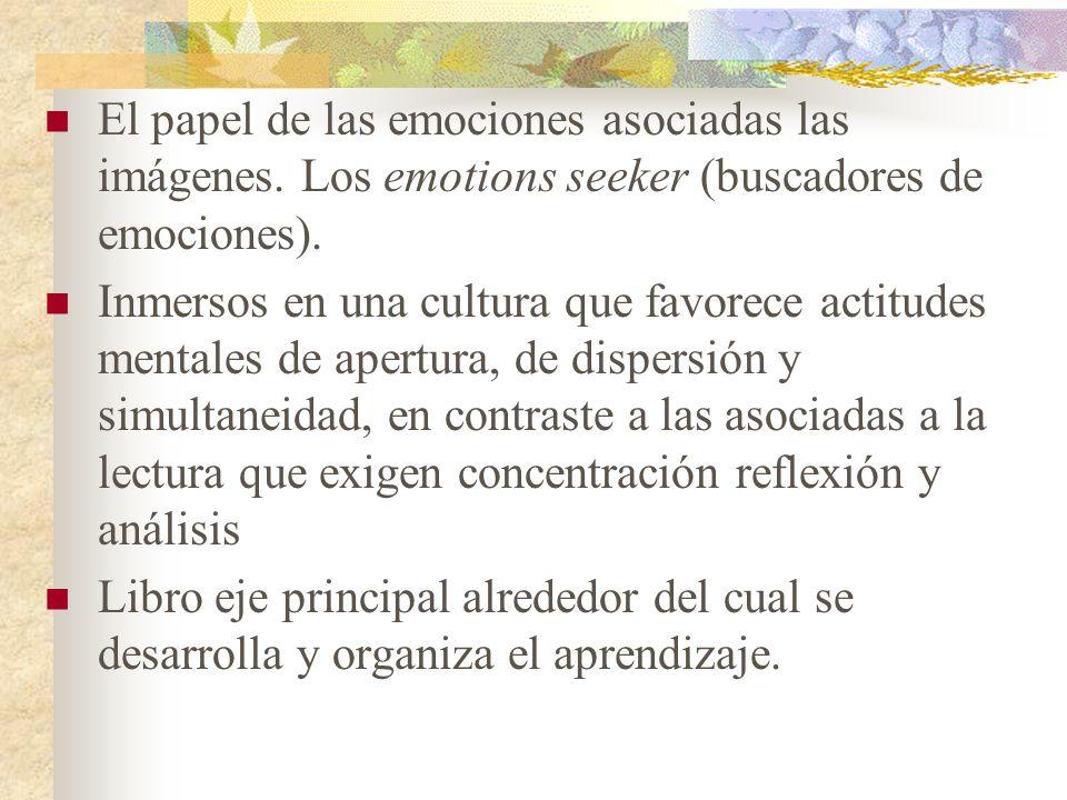 El papel de las emociones asociadas las imágenes