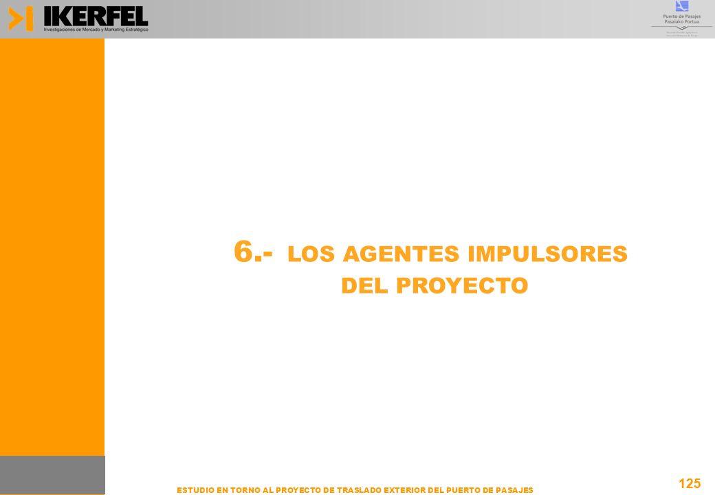 6.- LOS AGENTES IMPULSORES