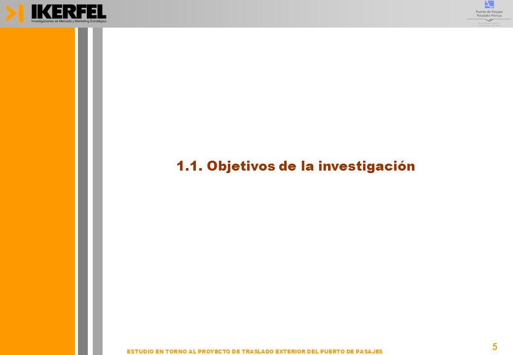 1.1. Objetivos de la investigación