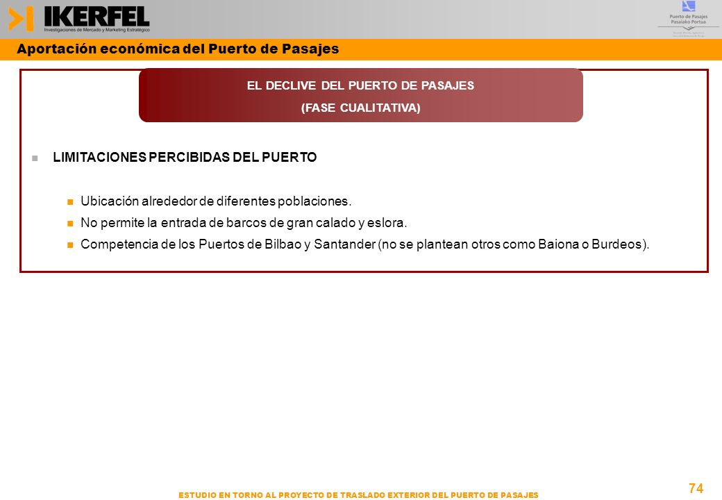 EL DECLIVE DEL PUERTO DE PASAJES