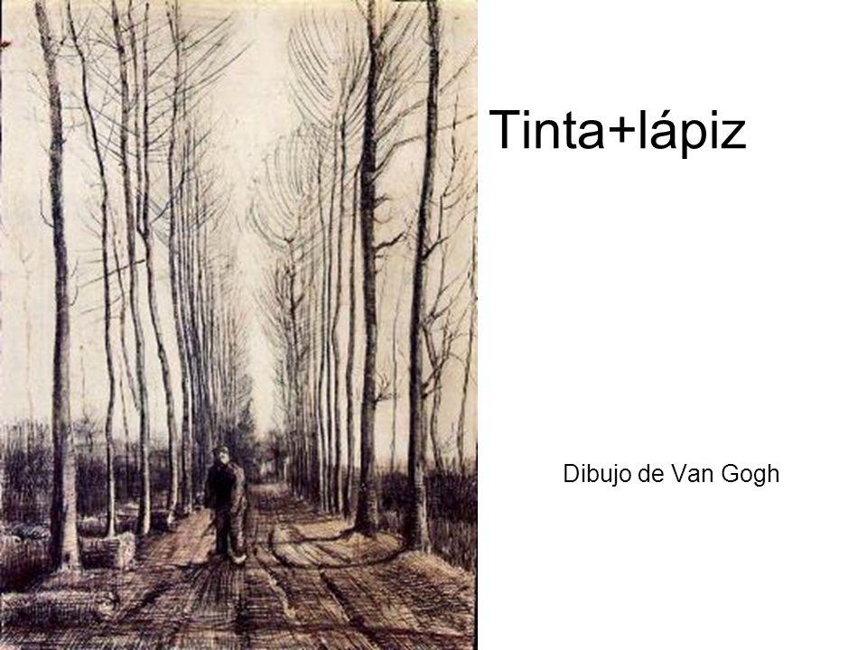 Tinta+lápiz Dibujo de Van Gogh