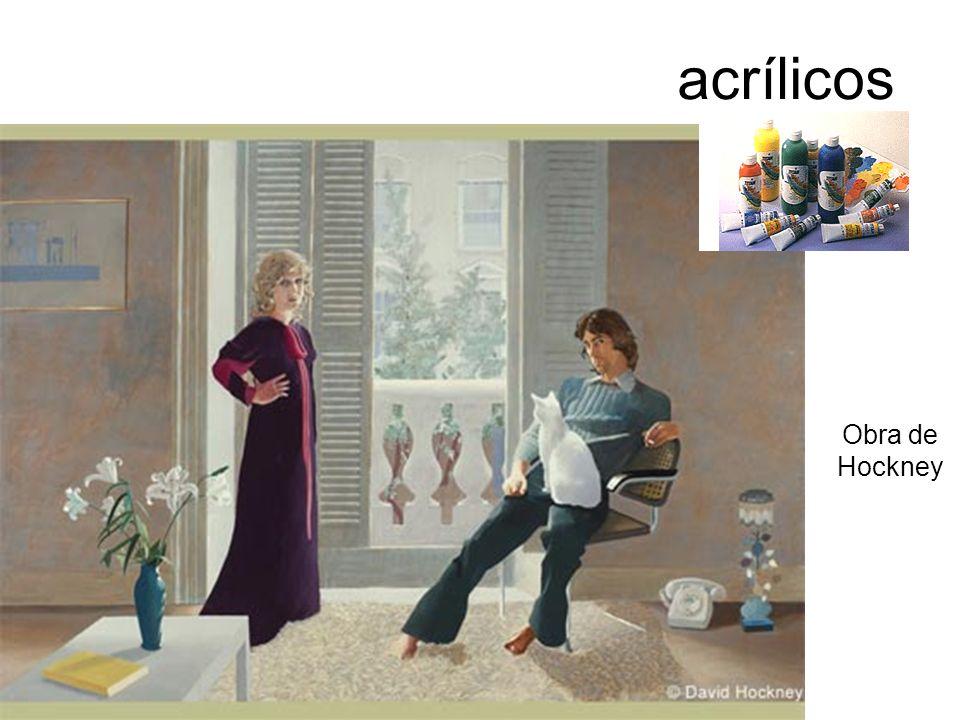 acrílicos Obra de Hockney