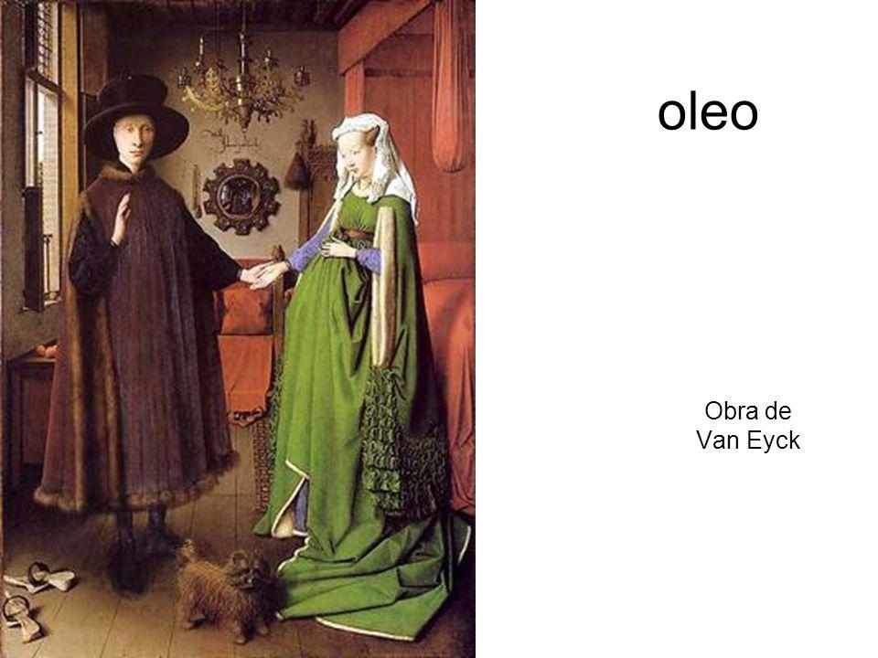 oleo Obra de Van Eyck
