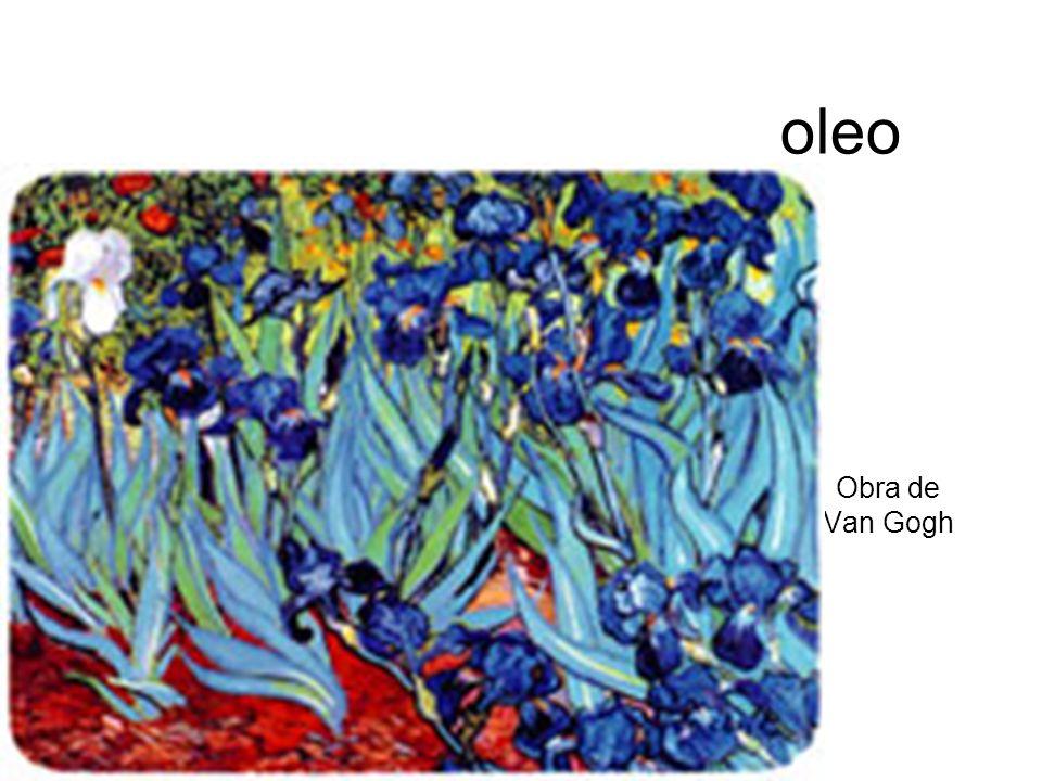 oleo Obra de Van Gogh
