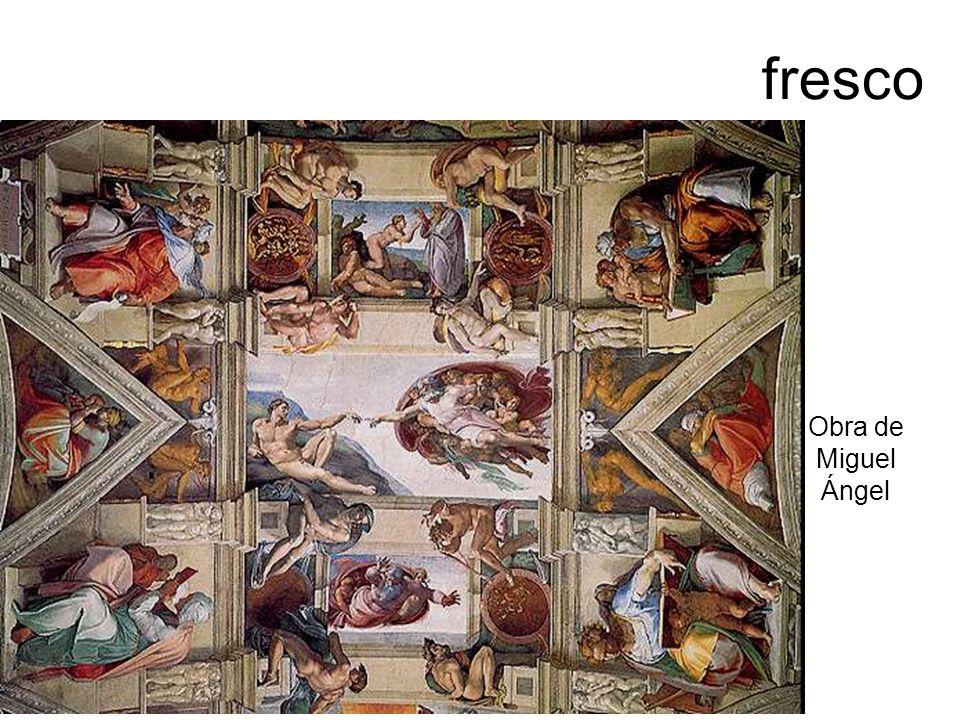 fresco Obra de Miguel Ángel