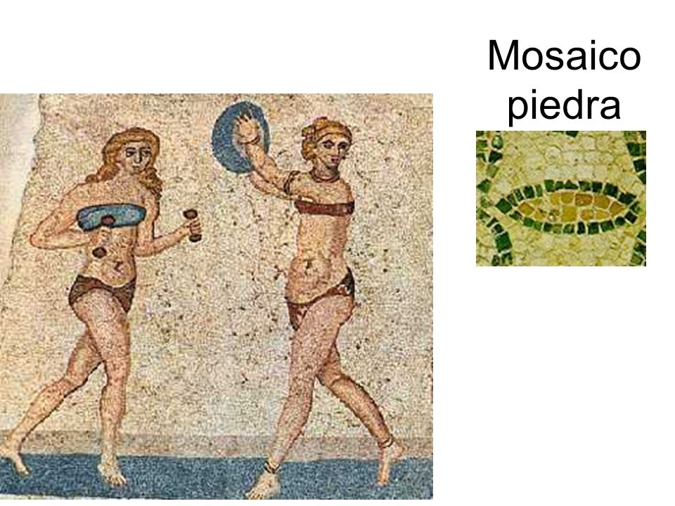 Mosaico piedra