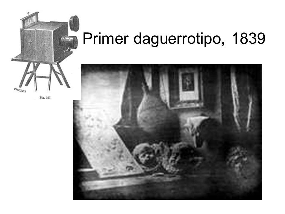 Primer daguerrotipo, 1839