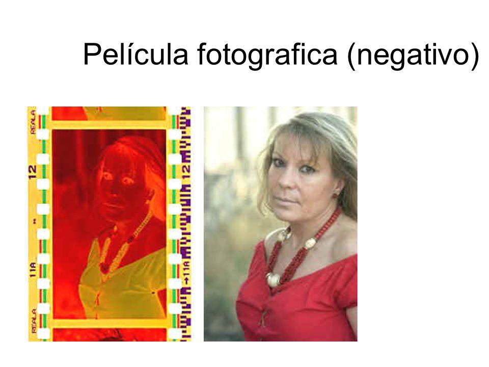 Película fotografica (negativo)