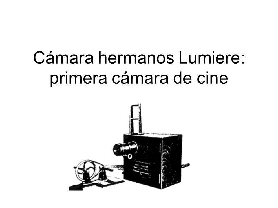 Cámara hermanos Lumiere: primera cámara de cine
