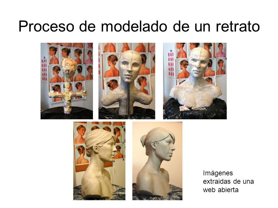 Proceso de modelado de un retrato
