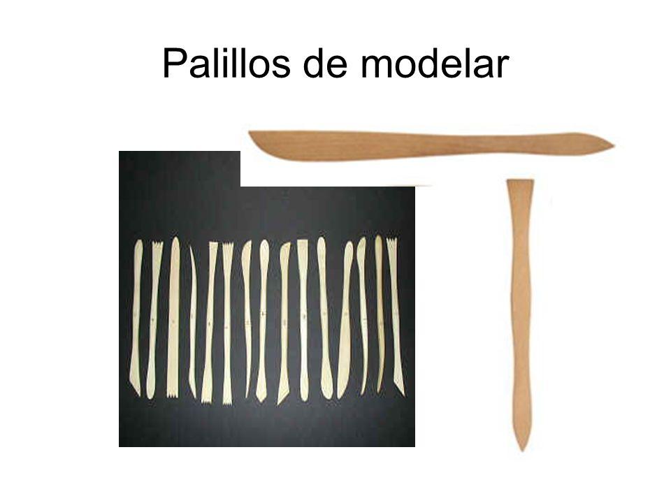Palillos de modelar
