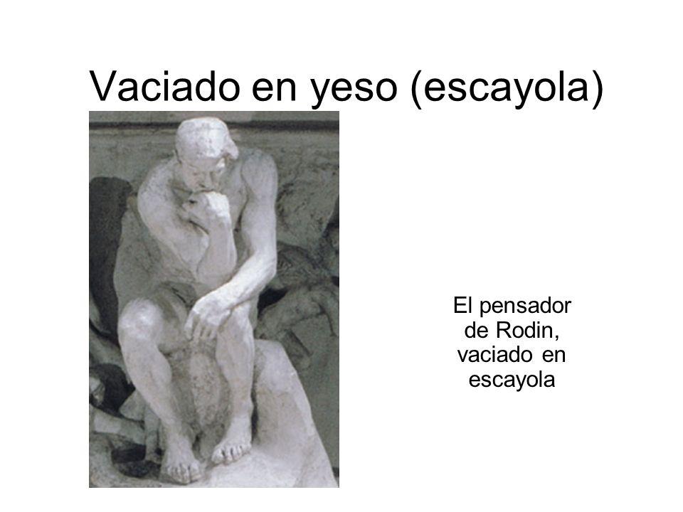 Vaciado en yeso (escayola)