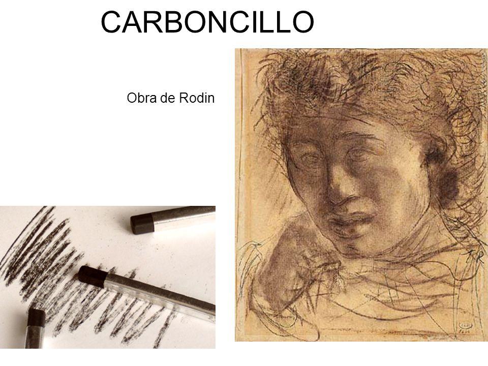 CARBONCILLO Obra de Rodin