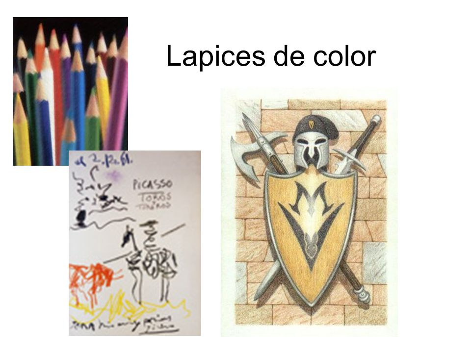 Lapices de color