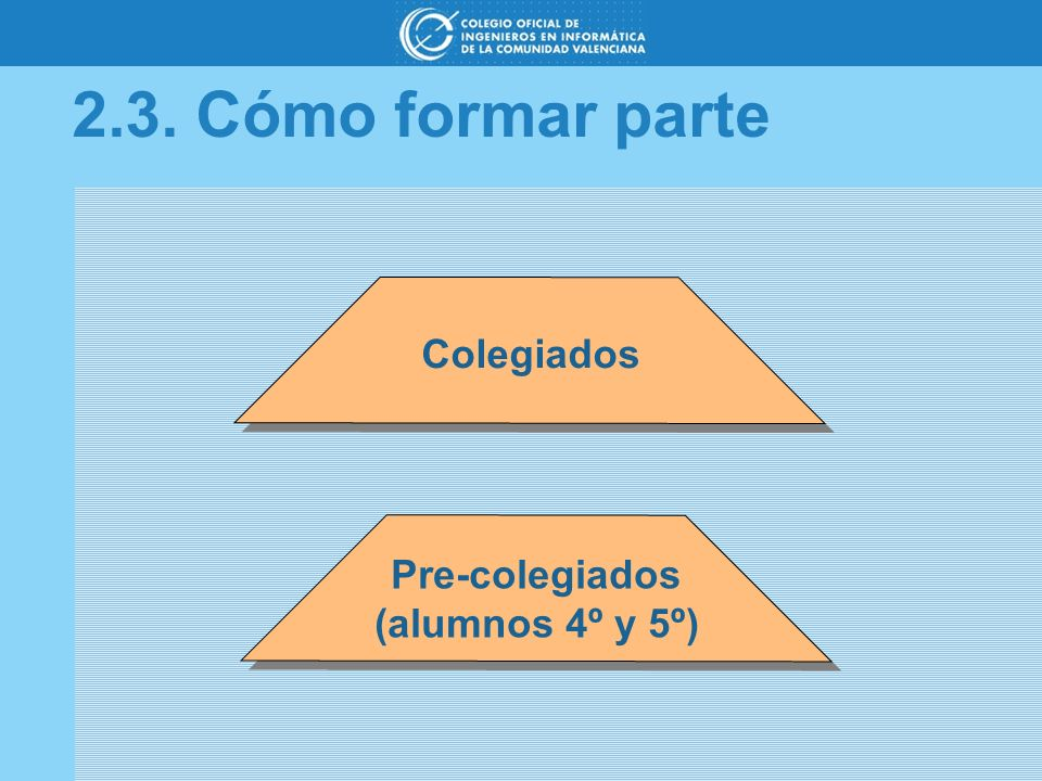 Pre-colegiados (alumnos 4º y 5º)