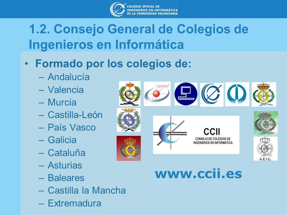 1.2. Consejo General de Colegios de Ingenieros en Informática
