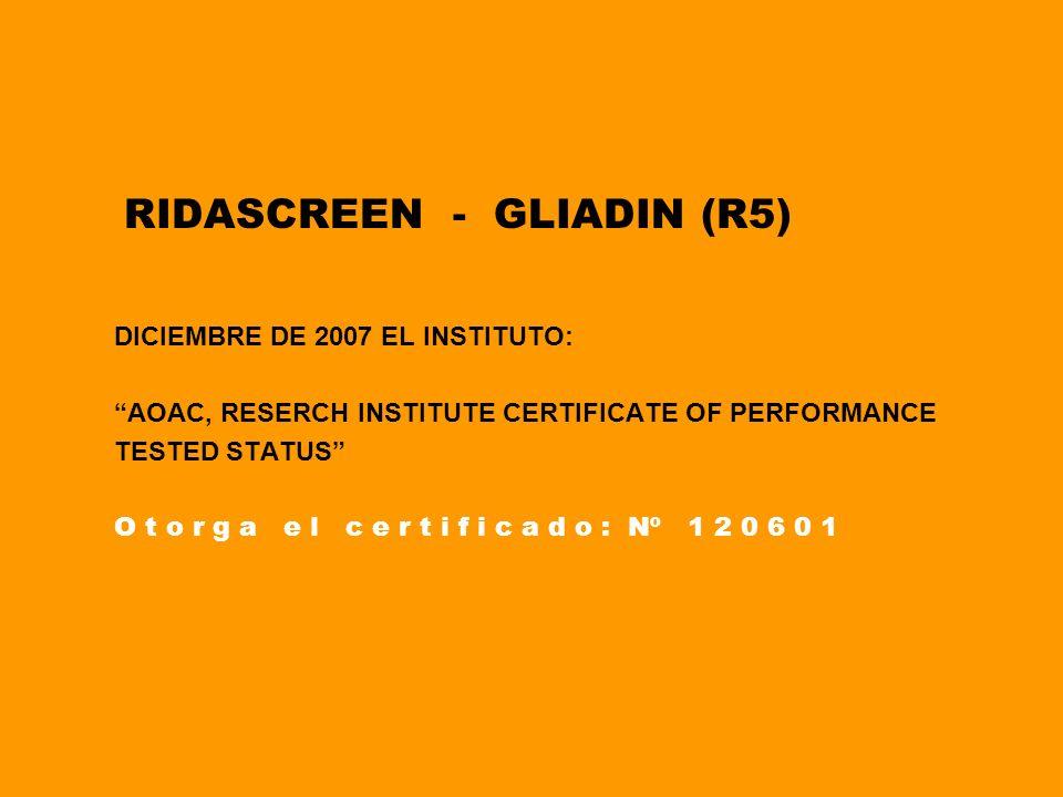 RIDASCREEN - GLIADIN (R5)