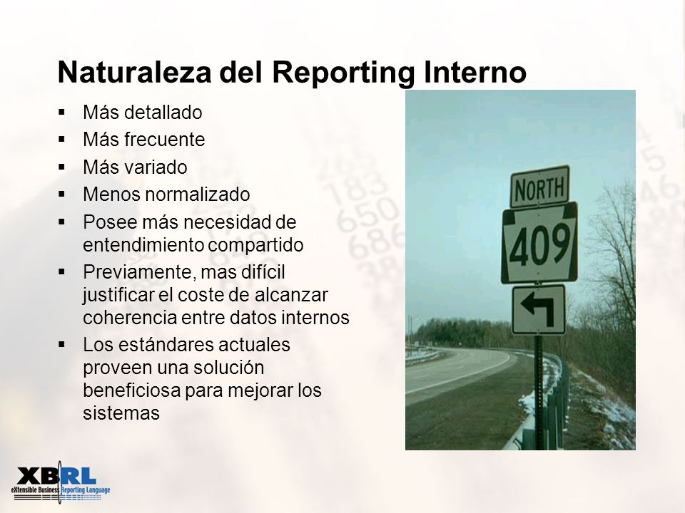 Naturaleza del Reporting Interno