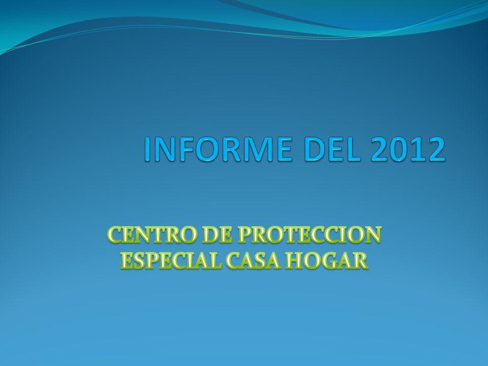 CENTRO DE PROTECCION ESPECIAL CASA HOGAR