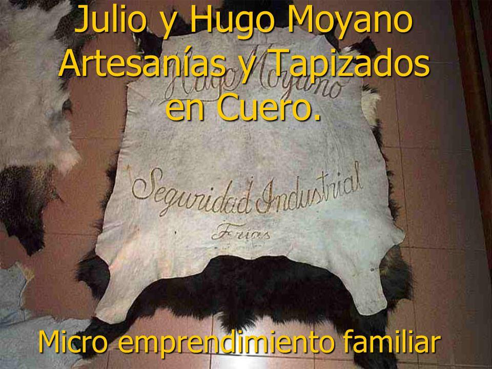 Julio y Hugo Moyano Artesanías y Tapizados en Cuero.