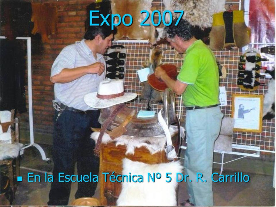 Expo 2007 En la Escuela Técnica Nº 5 Dr. R. Carrillo