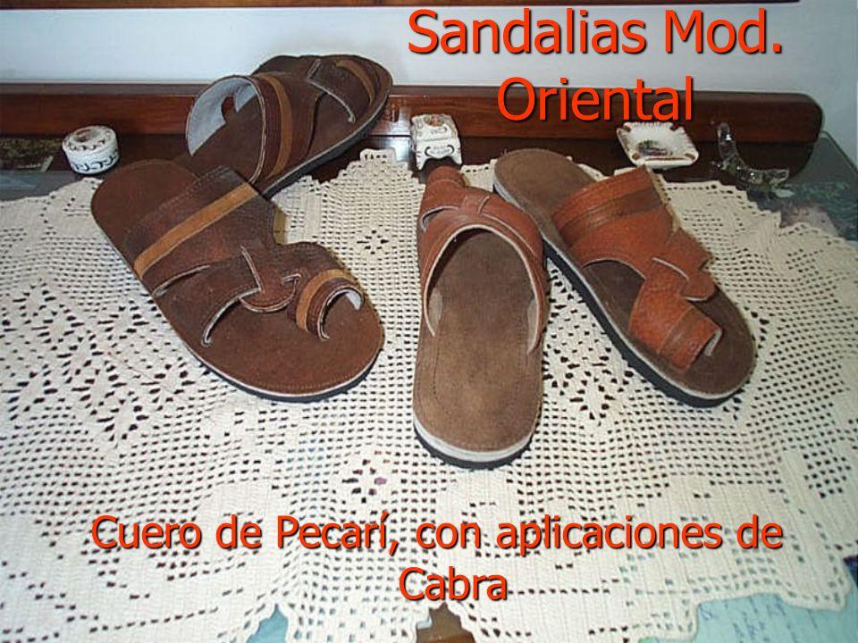 Sandalias Mod. Oriental