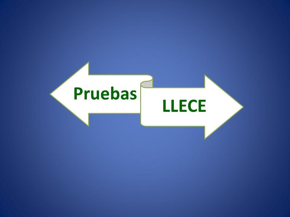 Pruebas LLECE