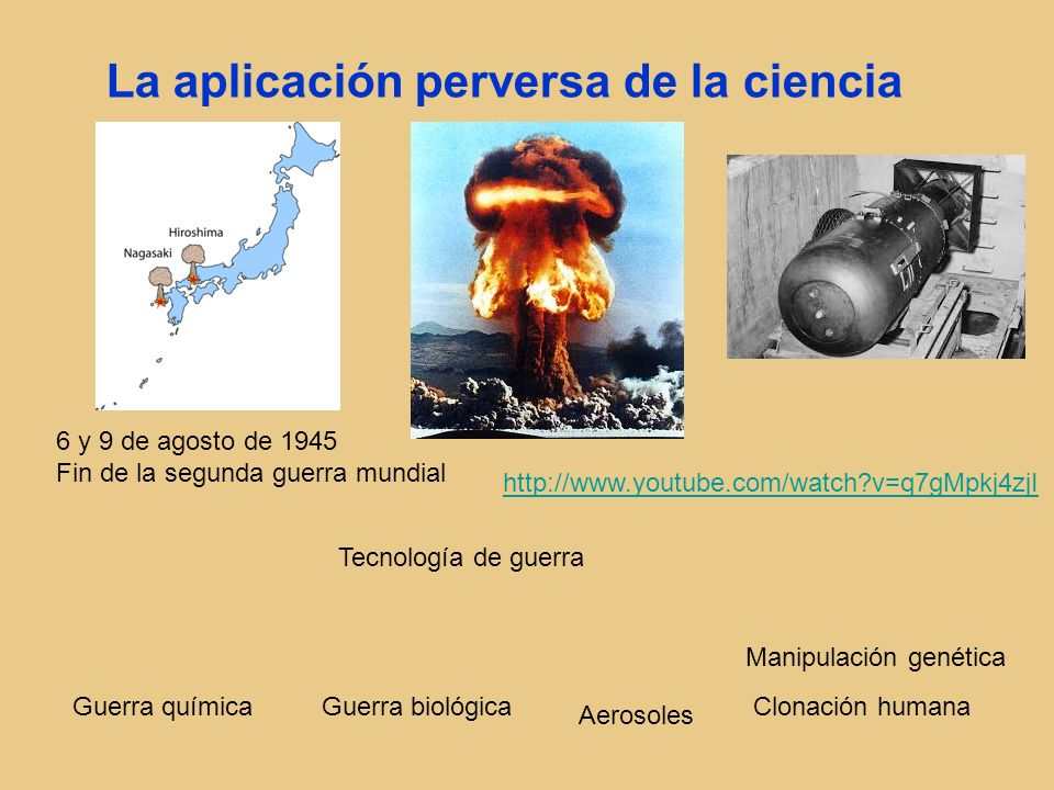 La aplicación perversa de la ciencia