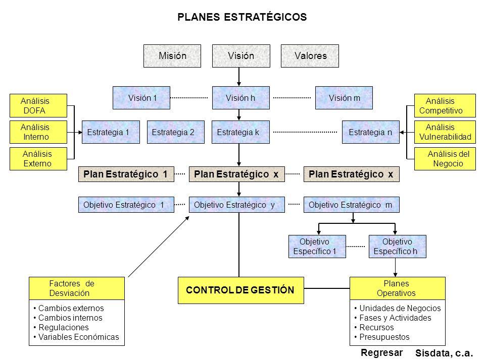 PLANES ESTRATÉGICOS Sisdata, c.a.