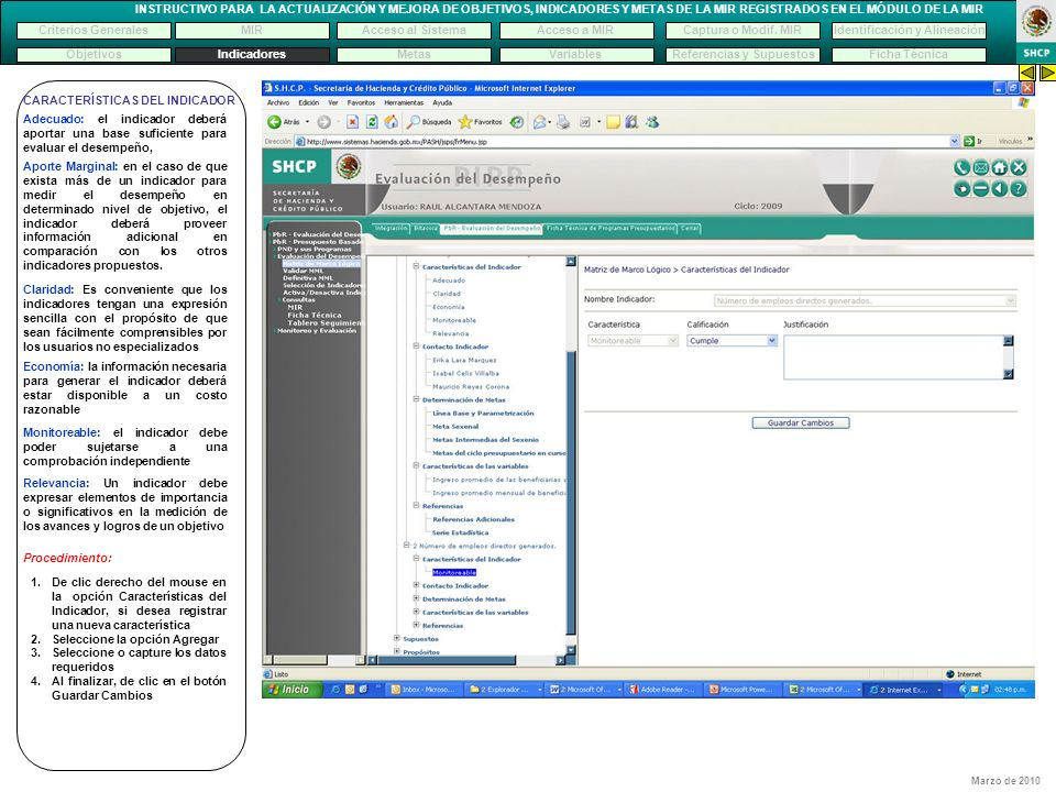 Identificación y Alineación Referencias y Supuestos
