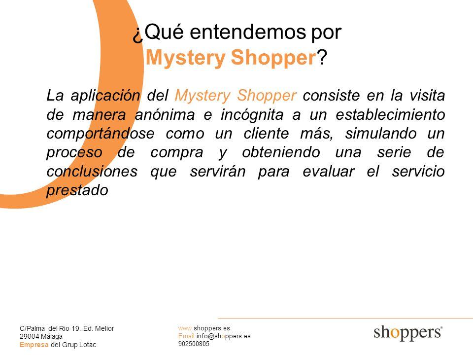 ¿Qué entendemos por Mystery Shopper