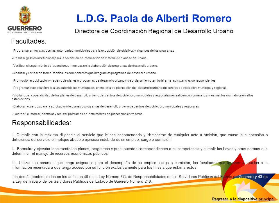 L.D.G. Paola de Alberti Romero