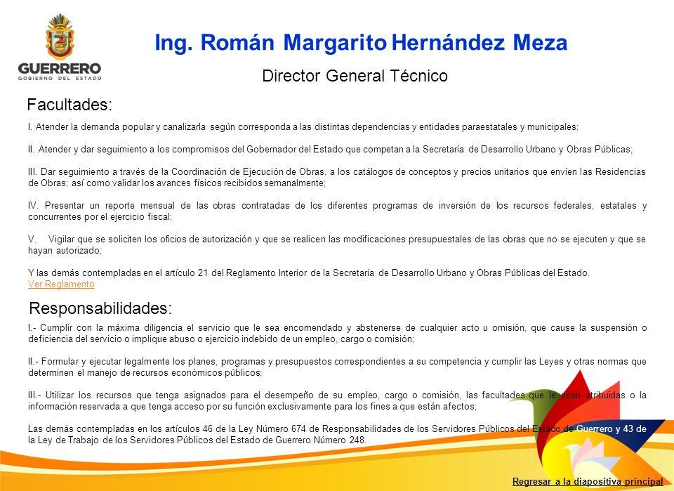 Ing. Román Margarito Hernández Meza