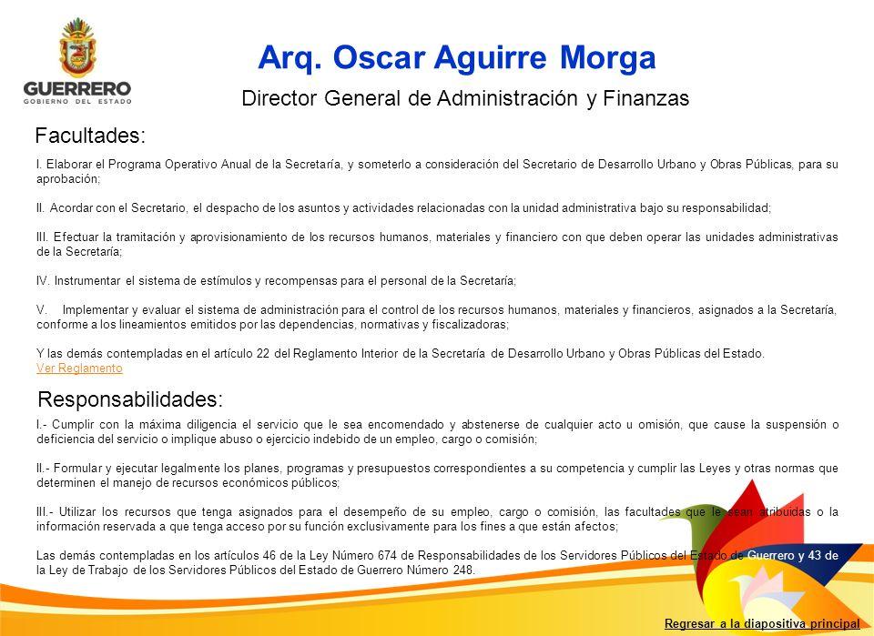 Arq. Oscar Aguirre Morga