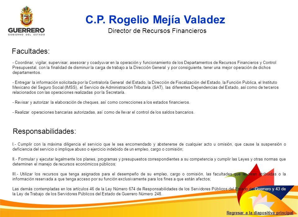 C.P. Rogelio Mejía Valadez