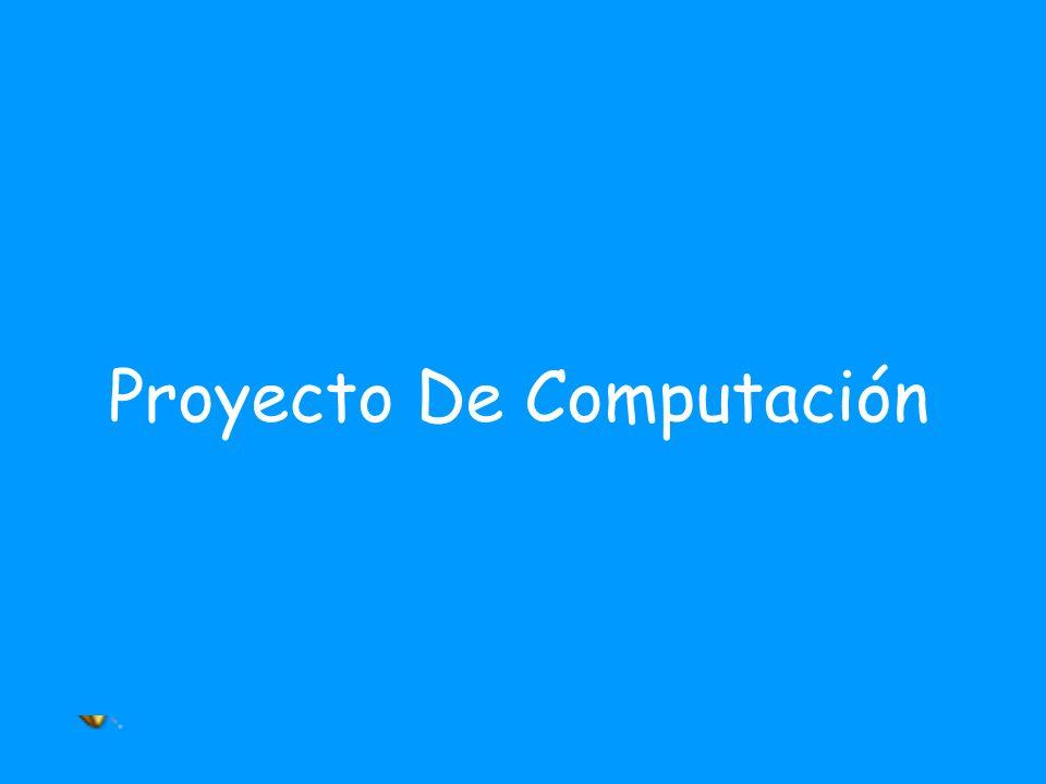 Proyecto De Computación