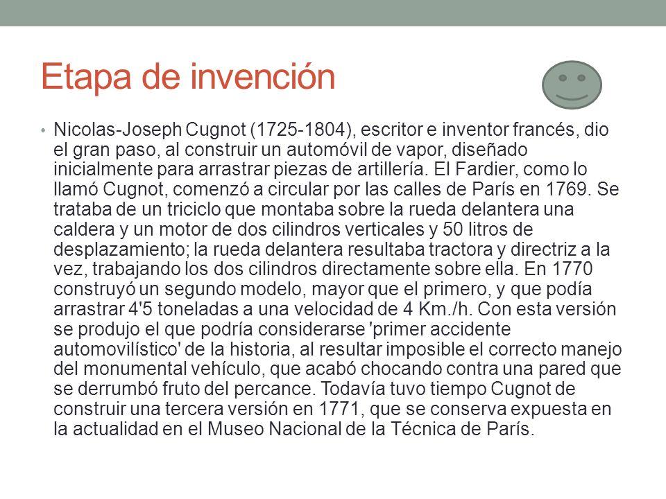 Etapa de invención