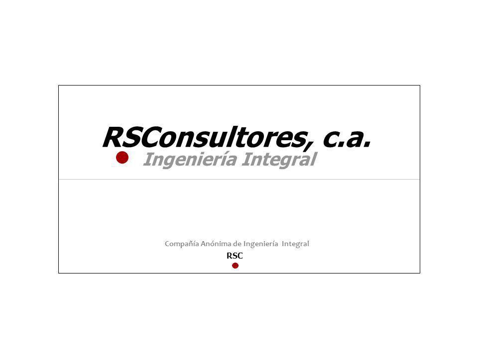 RSConsultores, c.a. Ingeniería Integral