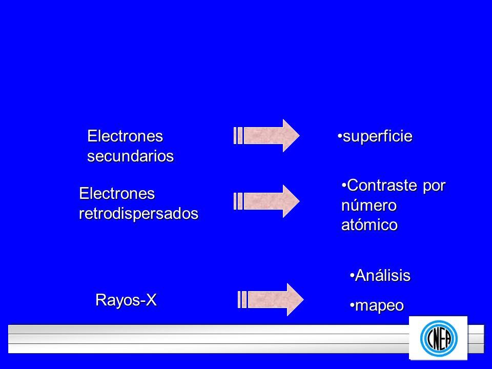 Electrones secundarios