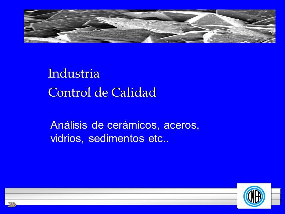 Industria Control de Calidad