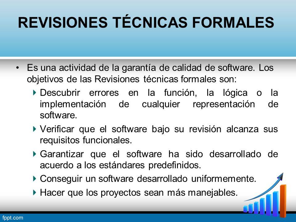 REVISIONES TÉCNICAS FORMALES
