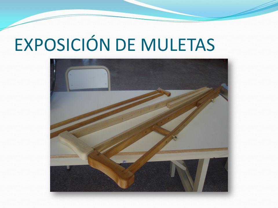 EXPOSICIÓN DE MULETAS