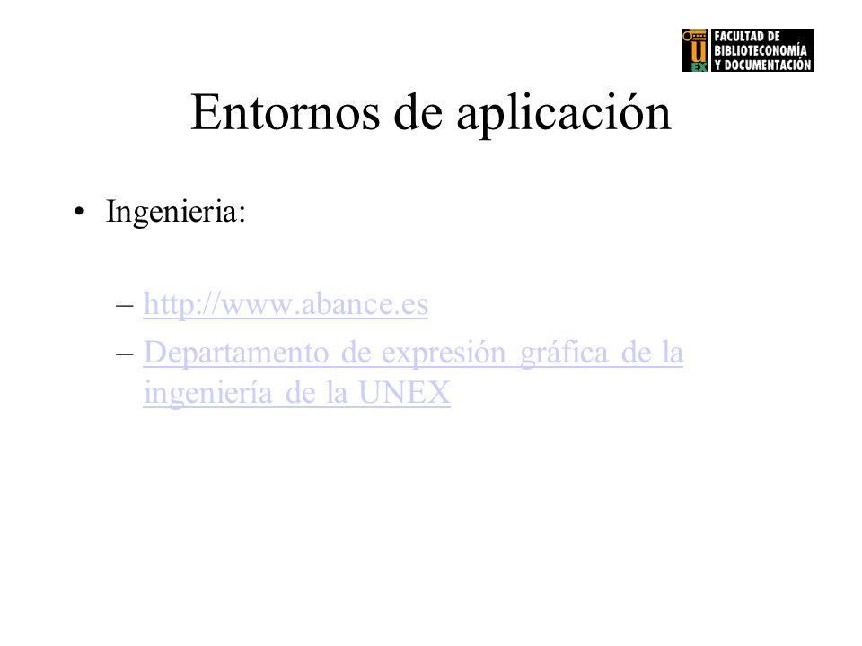 Entornos de aplicación