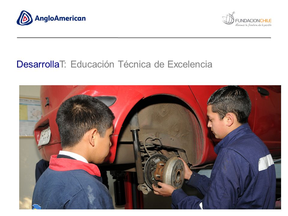 DesarrollaT: Educación Técnica de Excelencia