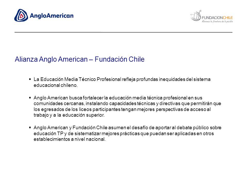 Alianza Anglo American – Fundación Chile