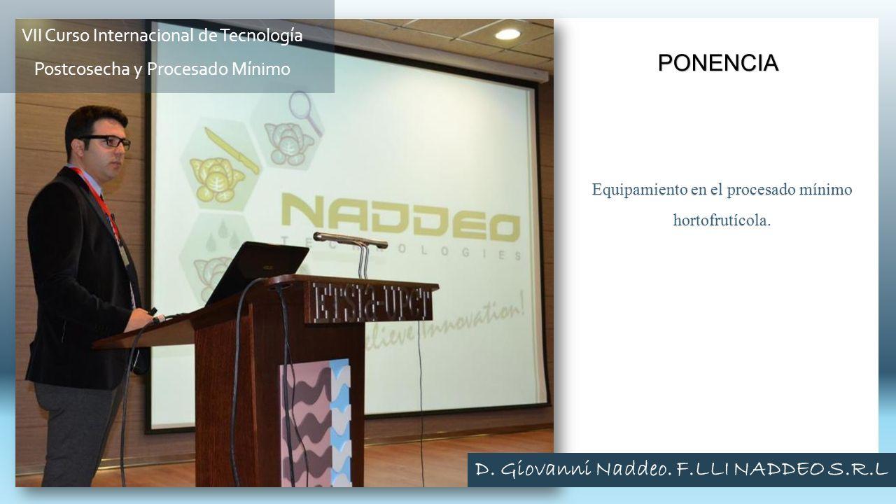 D. Giovanni Naddeo. F.LLI NADDEO S.R.L